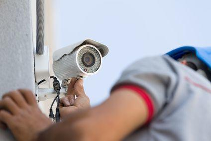 Überwachungskamera in Aachen