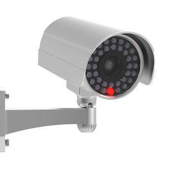 Aktive Überwachungskamera