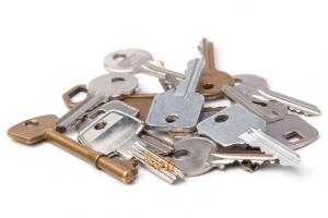 Schlüssel Haufen